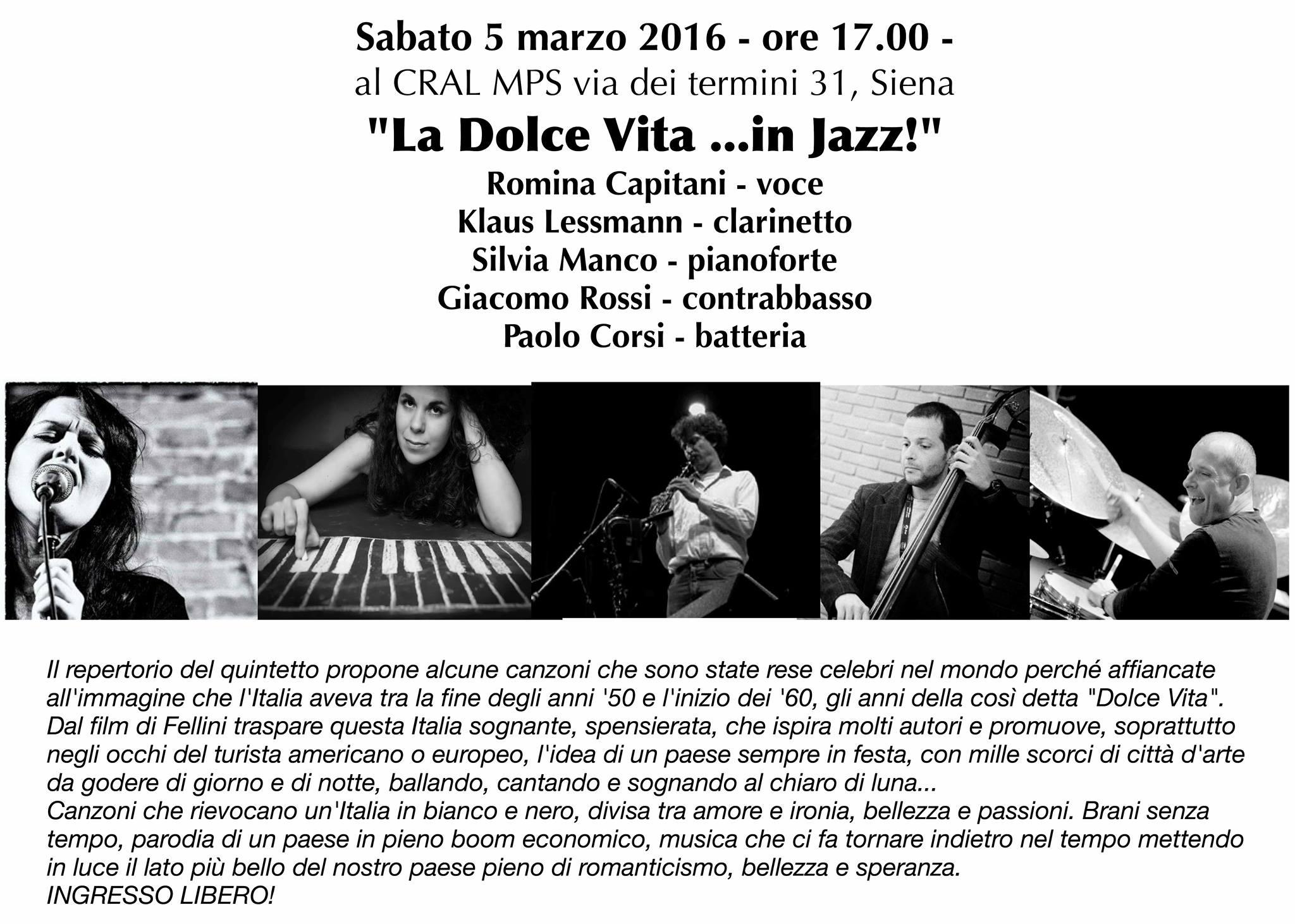 La Dolce Vita…in Jazz