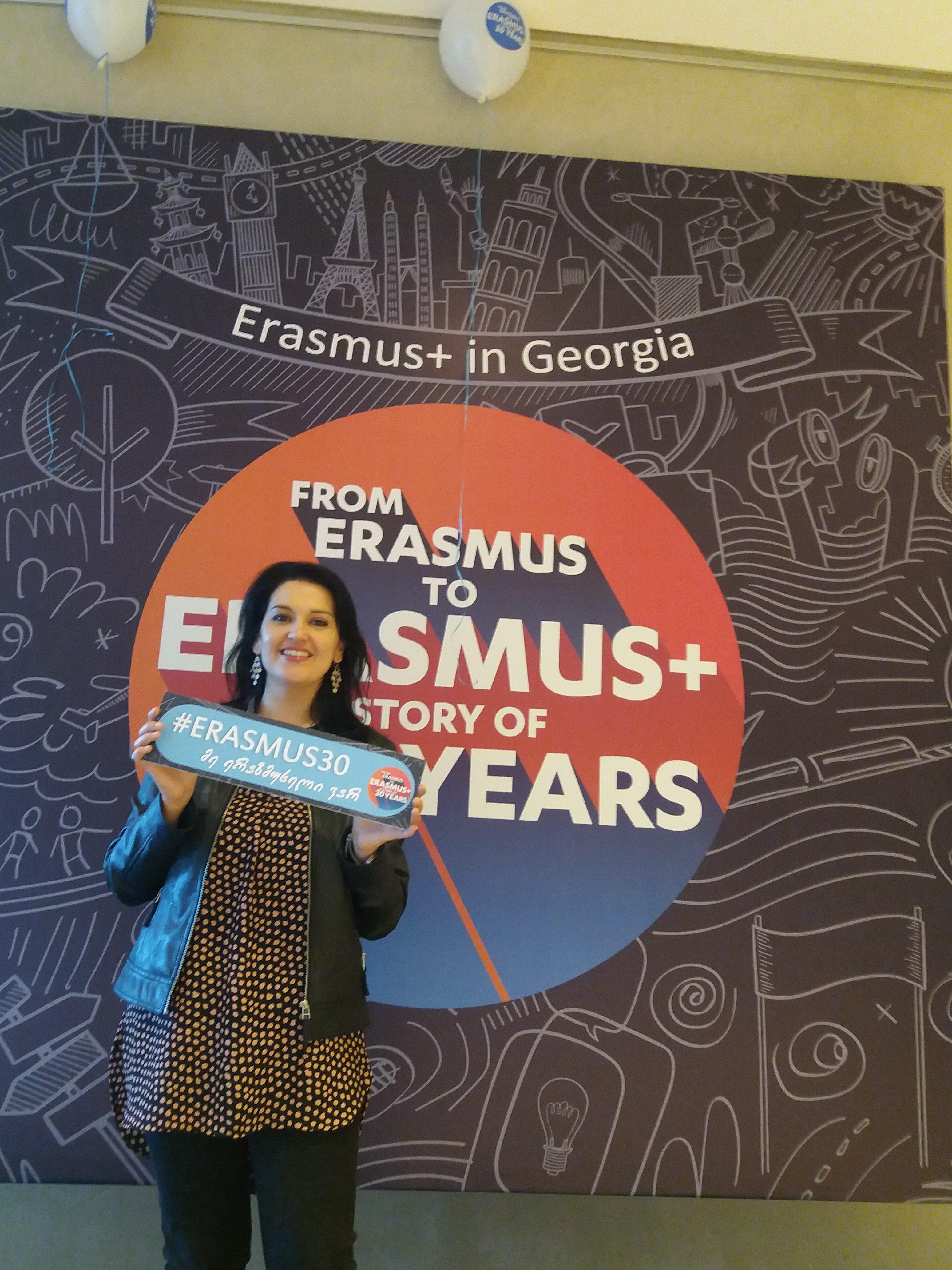 Romina Capitani Tbilisi Erasmus